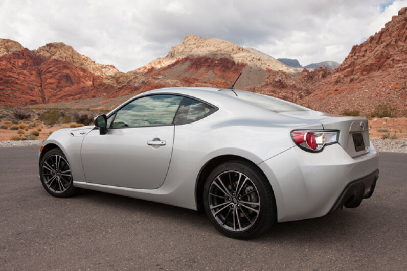The 2013 Scion FR-S (Courtesy of Toyota Motor Sales, U.S.A.)