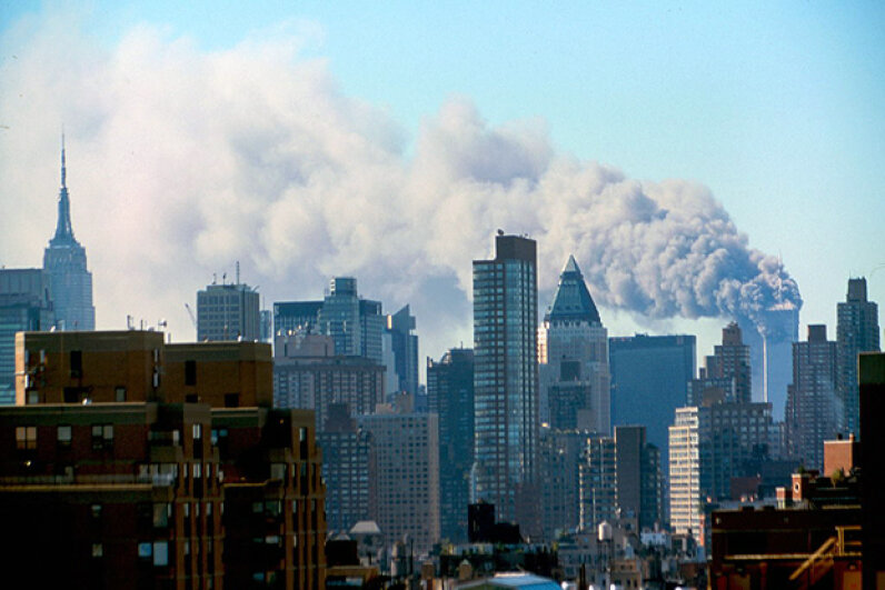 After the Sept. 11, 2001, attacks, President George W. Bush made significant changes to the Freedom of Information act, ordering thousands of documents and data removed from agency websites. Universal Images Group/Getty