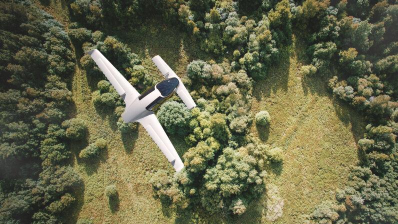 Lilium's jet in action Lilium