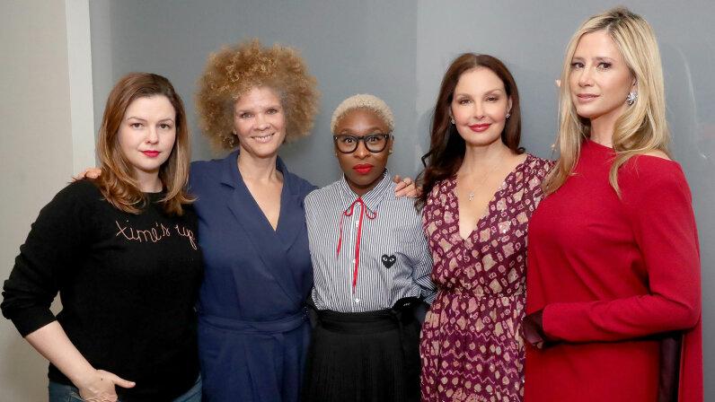Amber Tamblyn, Michaela Angela Davis, Cynthia Erivo, Ashley Judd and Mira Sorvino