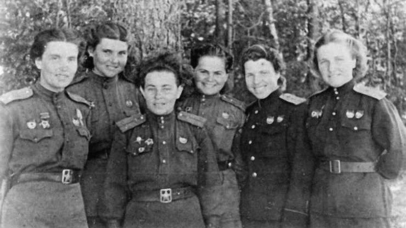 Night witches, Nazis