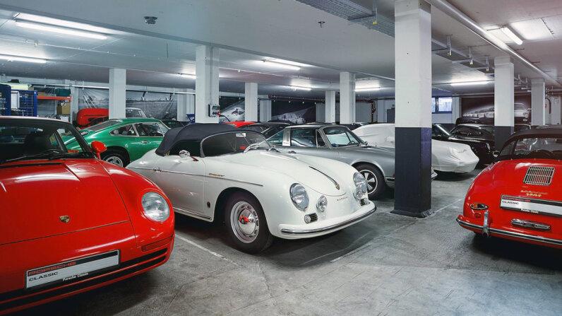 3-D printed Porsche parts