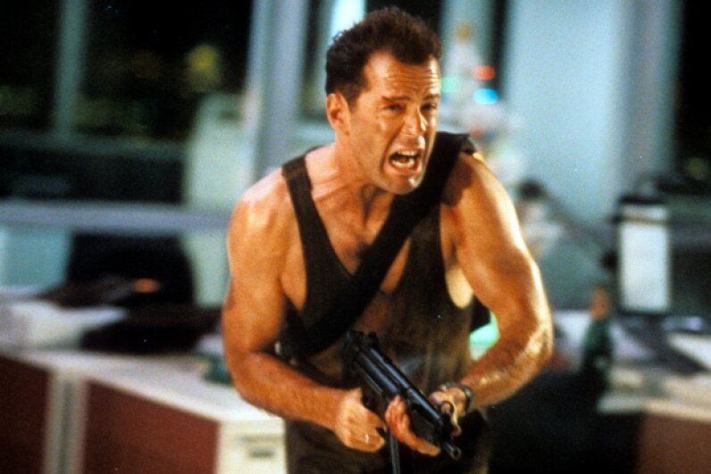 Well, hello, John McClane! Archive Photos/Stringer/Getty Images