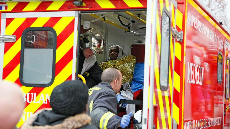 ambulance, France