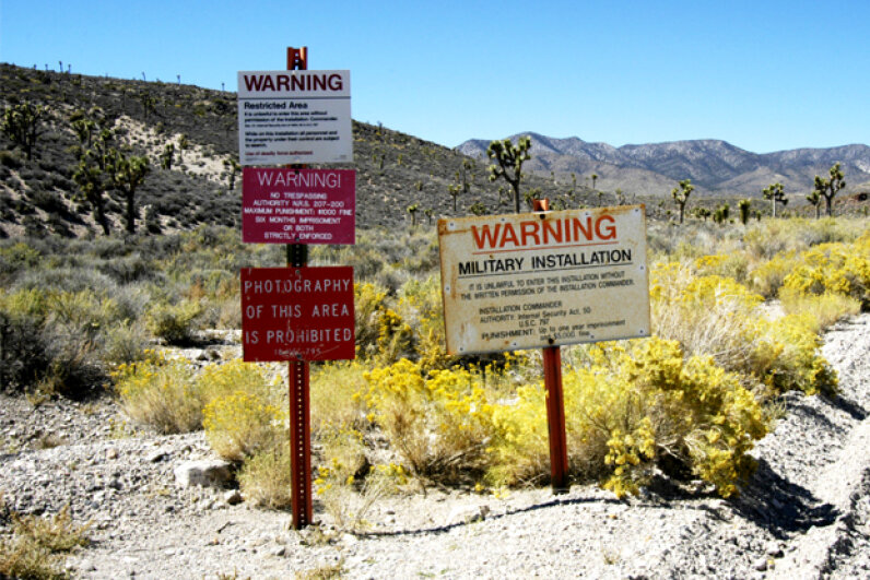 What are the secrets of the military base known as Area 51? Are they as nefarious as some suggest? Barry King/Getty Images