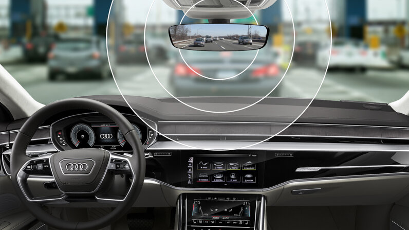 integrated toll techonology Audi