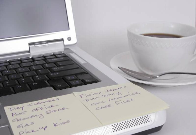Reminders can be sent to your computer... Photo courtesy of Dreamstime
