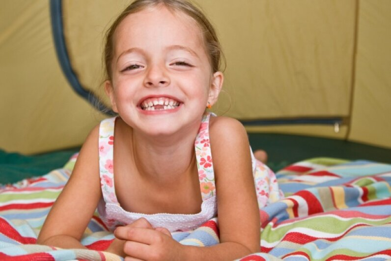 """Yeehaw! I got this tent all to myself!"" iStockphoto/Thinkstock"