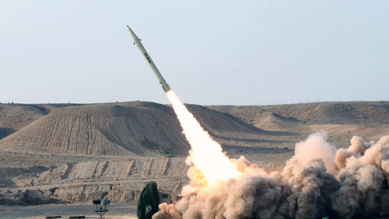 Fateh 110 ballistic missile