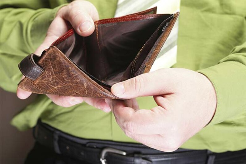 Being bankrupt doesn't have to mean you have absolutely no money. Voyagerix/iStock/Thinkstock