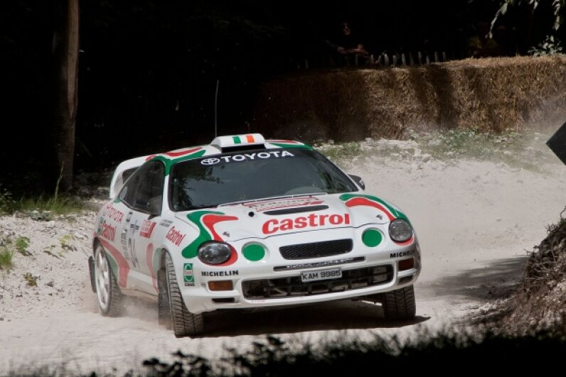 The Toyota Celica GT-Four is pictured.