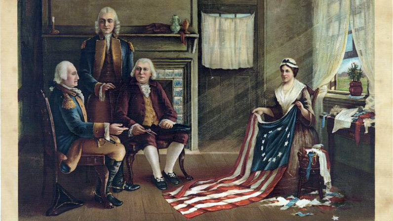 The Birth of Our Nation's Flag Betsy Ross