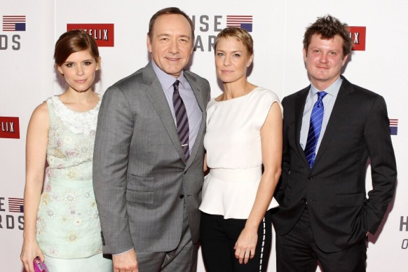 Frank Underwood's insatiable greed for power keeps binge-watchers hooked season after season. Paul Morigi/WireImage/Getty Images