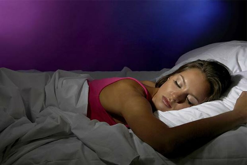Melatonin is a naturally occurring chemical that makes you want to sleep. belchonock/iStock/Thinkstock