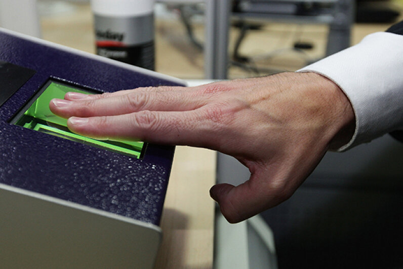 England introduced in 2009 a biometric identity card with data technology similar to that developed by Pay by Touch. Christopher Furlong/Getty Images