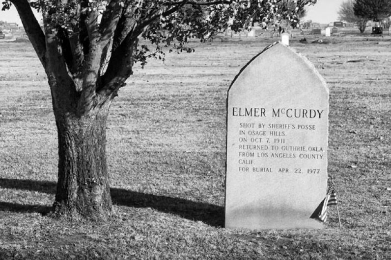 Elmer McCurdy was a well-known outlaw, but his accidental mummification increased his popularity after his death. Kool Cats Photography/Flickr