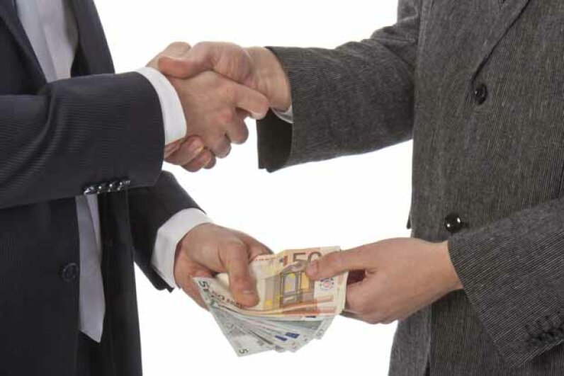 Countries with higher levels of tipping also tend to have more political corruption. iStock/Thinkstock
