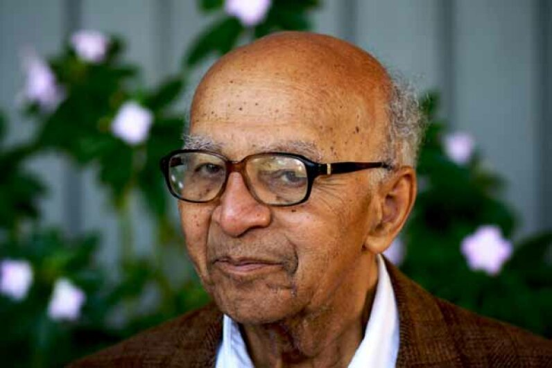 Statistician David Harold Blackwell, Ph.D. was the first tenured Black professor at the University of California-Berkeley and the first Black person admitted to the National Academy of Sciences. UC Berkeley