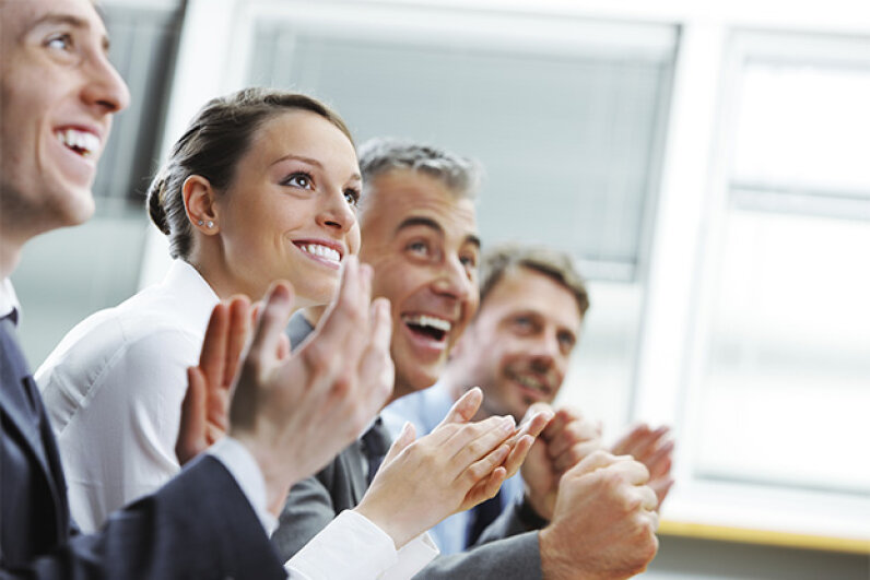 On the other hand, if you have praise for an employee, try to do it publicly. stokkete/iStock/Thinkstock