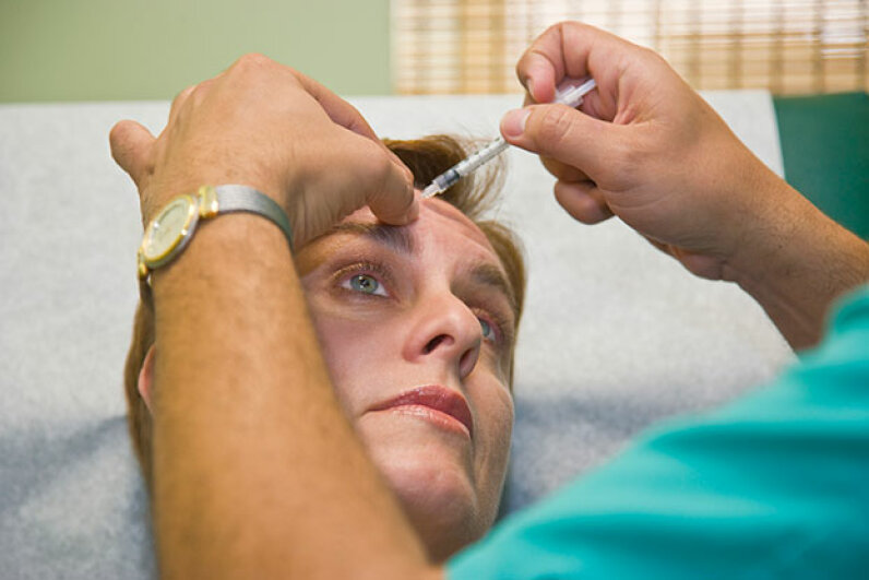 Botox is a safe and effective treament for migraines. Juan Silva/Getty Images