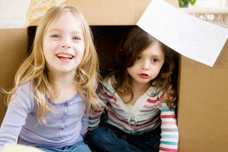 Cardboard is inexpensive, abundant and easy to manipulate. Jamie Grill/Getty Images