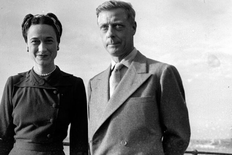 Edward, Duke of Windsor and his wife the Duchess of Windsor in 1945 ©Getty Images
