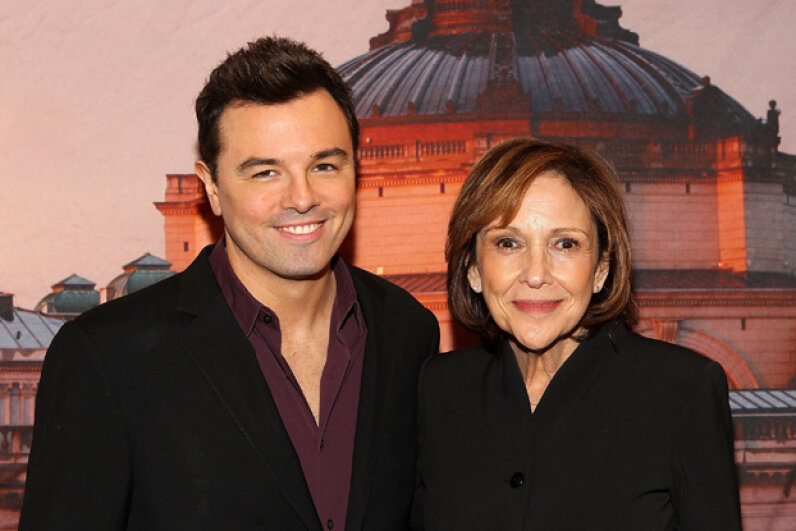 Seth MacFarlane and Ann Druyan attend a Celebration Of Carl Sagan at the Library of Congress on November 12, 2013 in Washington, D.C. Paul Morigi/Getty Image