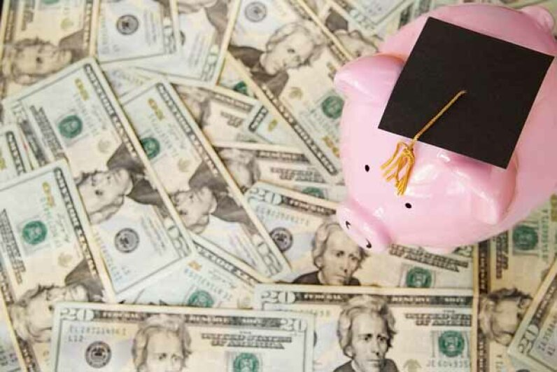 IRA funds can be used not only to pay for college tuition, but also books and room and board. iStockphoto/Thinkstock