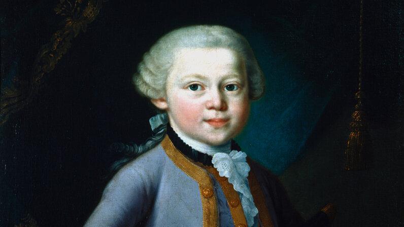 Mozart, age 7