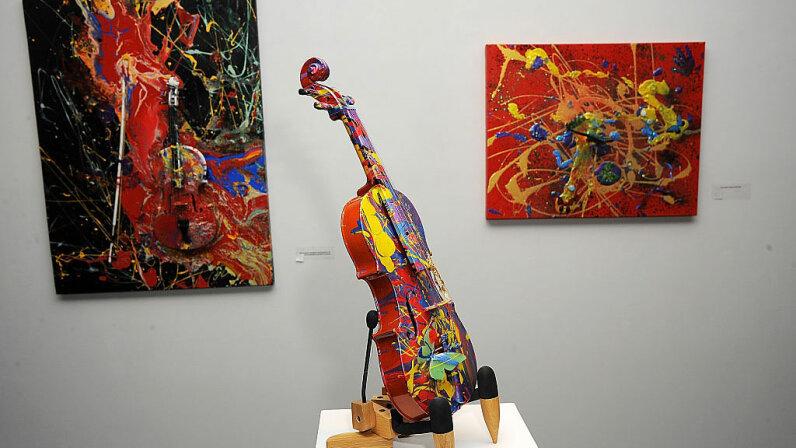 Aelita Andre, artwork