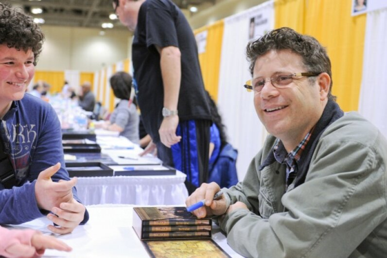 Sean Astin was all smiles at the 2013 Toronto ComiCon.  © Ernesto Di Stefano Photography/Getty Images