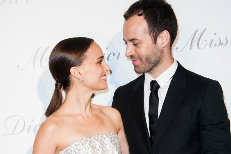 Natalie Portman and husband Benjamin Millepied. © Francois G. Durand/WireImage