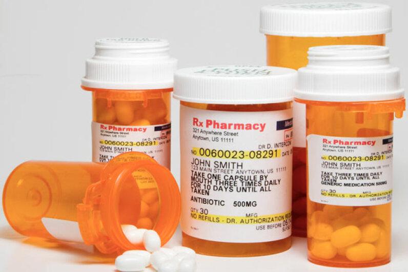The overuse of antibiotics is contributing to the problem of antibiotic-resistant bacteria. ©Hemera/Thinkstock