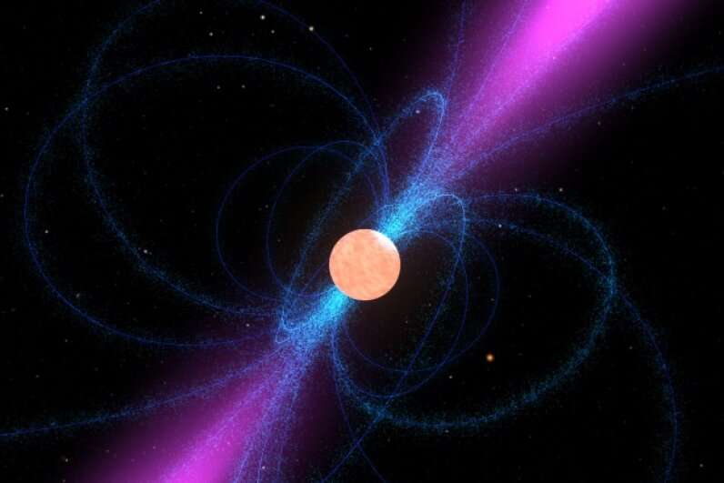 Pulsars: alien mobile relay towers? Nay. Image courtesy of NASA