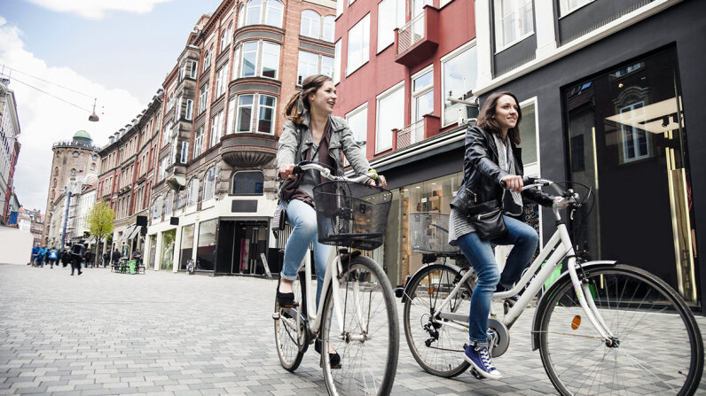 Residents of Denmark are consistently ranked among the happiest in the world. LeoPatrizi/Getty Images