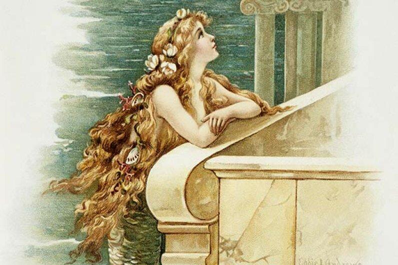 The original Little Mermaid didn't have such a happy ending. © Blue Lantern Studio/Corbis