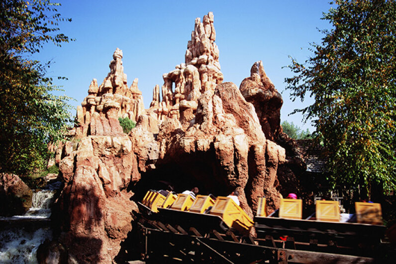 There was nothing magical about Disneyland the day a rider was killed and 10 others injured. Michael T. Sedam/Corbis