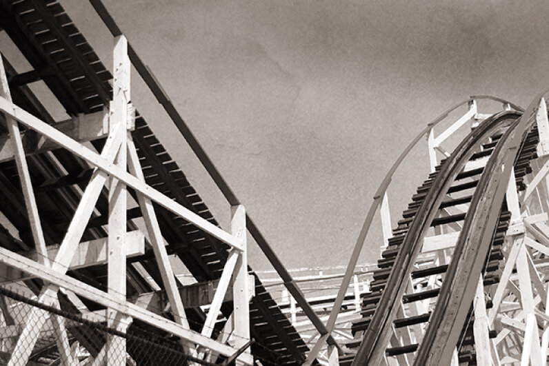 Krug Park is now known as Gallagher Park -- and it no longer features a roller coaster. daveO/iStock/Thinkstock
