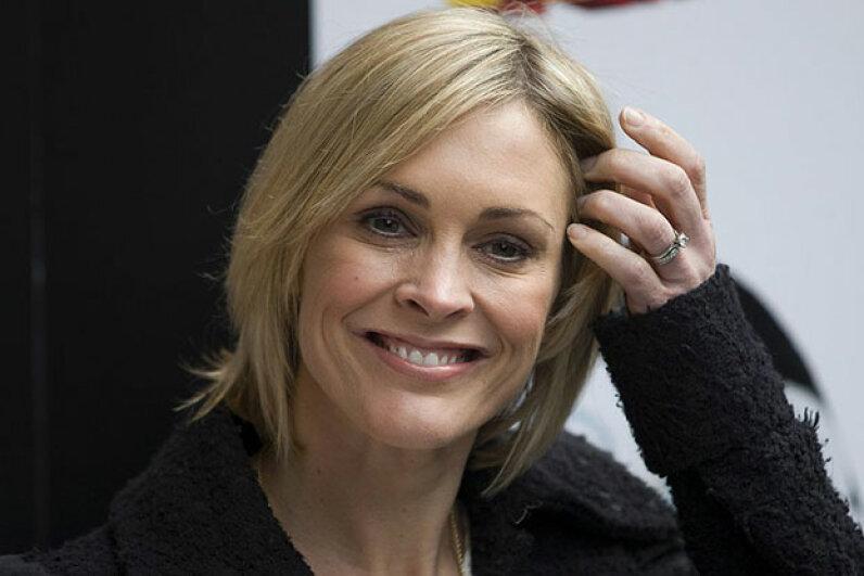 British TV and radio host Jenni Falconer