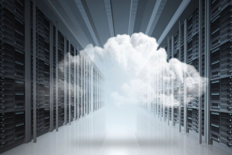 Cloud computing does not involve any actual clouds. © buchachon/iStock/Thinkstock