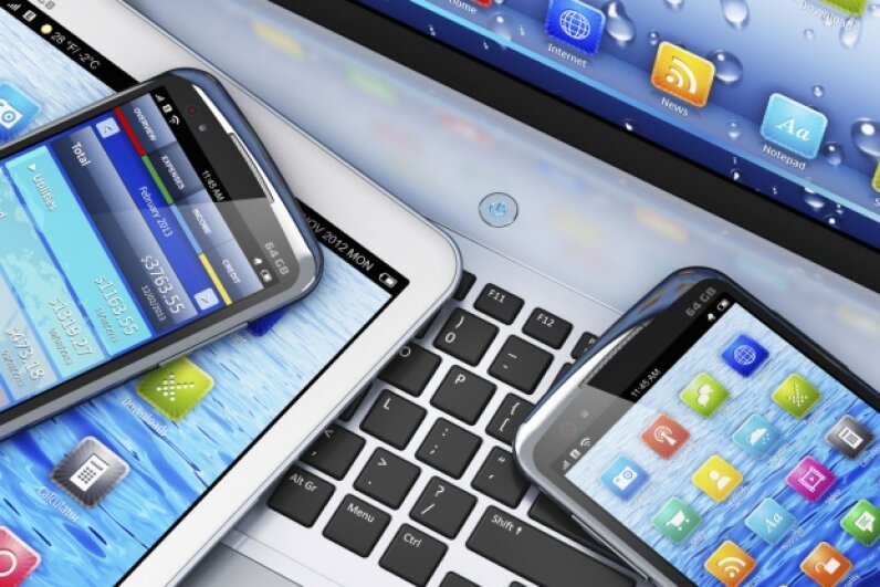 Mobile devices catalyzed a major shift in the way most people live their lives. © scanrail/iStock/Thinkstock