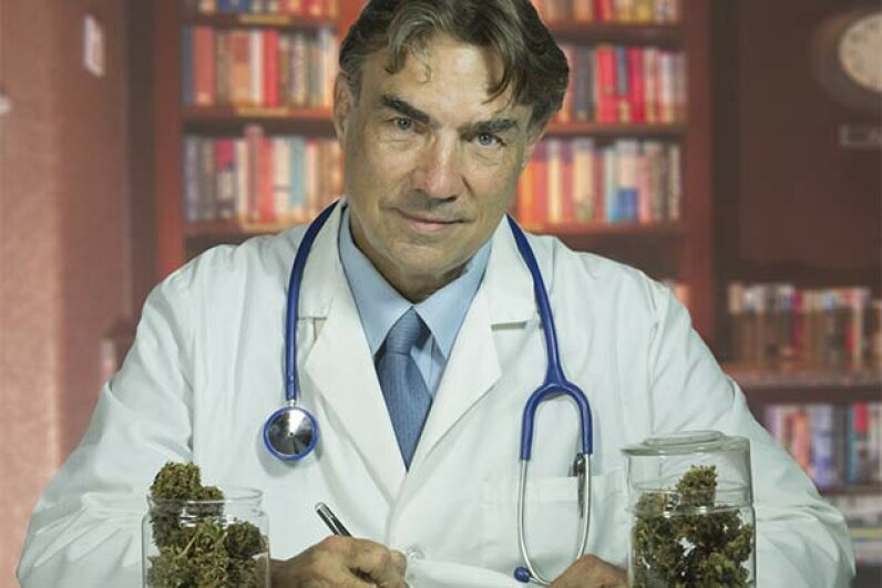 Since 1996, some 20 U.S. states have passed laws allowing marijuana's use for medicinal purposes. petdcat/iStock/Thinkstock