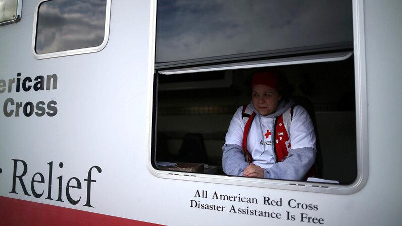 Red Cross, Sandy