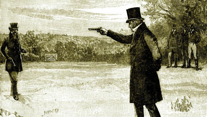 duke of wellington duel