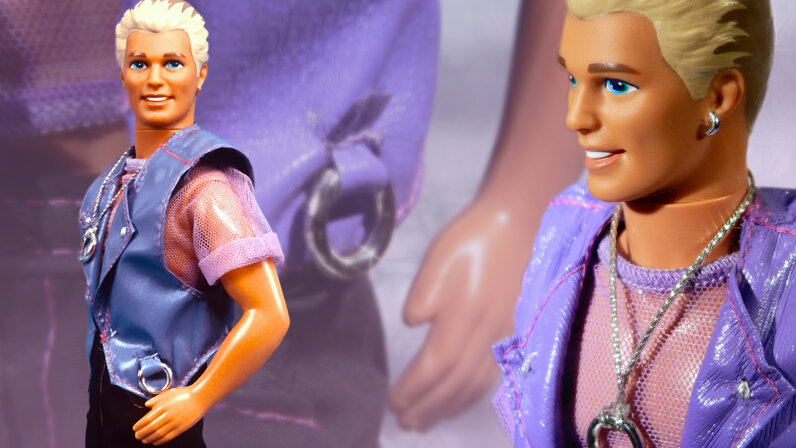 The toy company Mattel introduced the doll Earring Magic Ken in the early 1990s as one of six dolls in the Earring Magic Barbie collection. But the company quickly recalled and discontinued the doll due to an unintended depiction of then-taboo gay culture. Yvonne Hemsey/Getty Images/Julius Seelbach/Flickr/CC BY 2.0