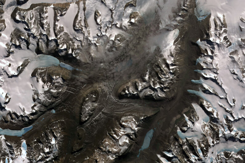 Scientists like the Dry Valleys because the lack of ice makes it easier for them to study the geological processes affecting Antarctica. Universal History Archive/UIG via Getty Images