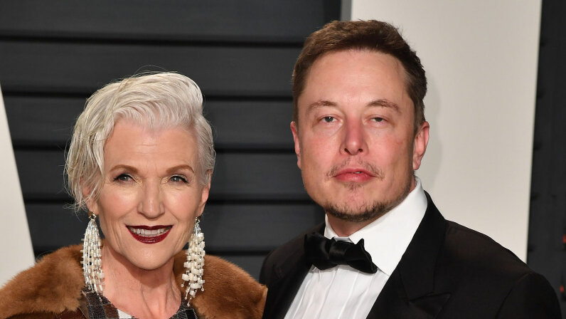 Maye Musk, Elon Musk