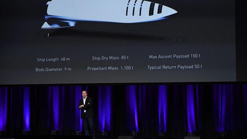 International Astronautical Congress, Elon Musk