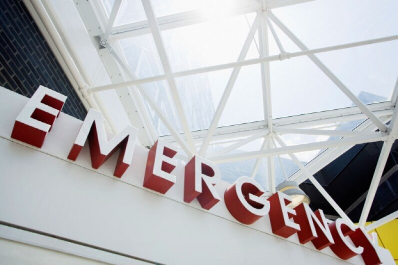 A lot of patients who show up in the ER should really be going to an urgent care center or their family doctor. ©Fuse/Thinkstock