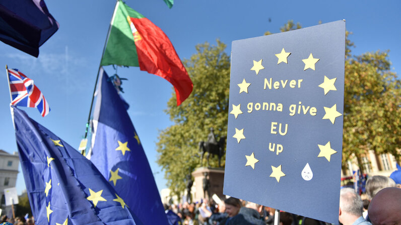 AntiBrexit march